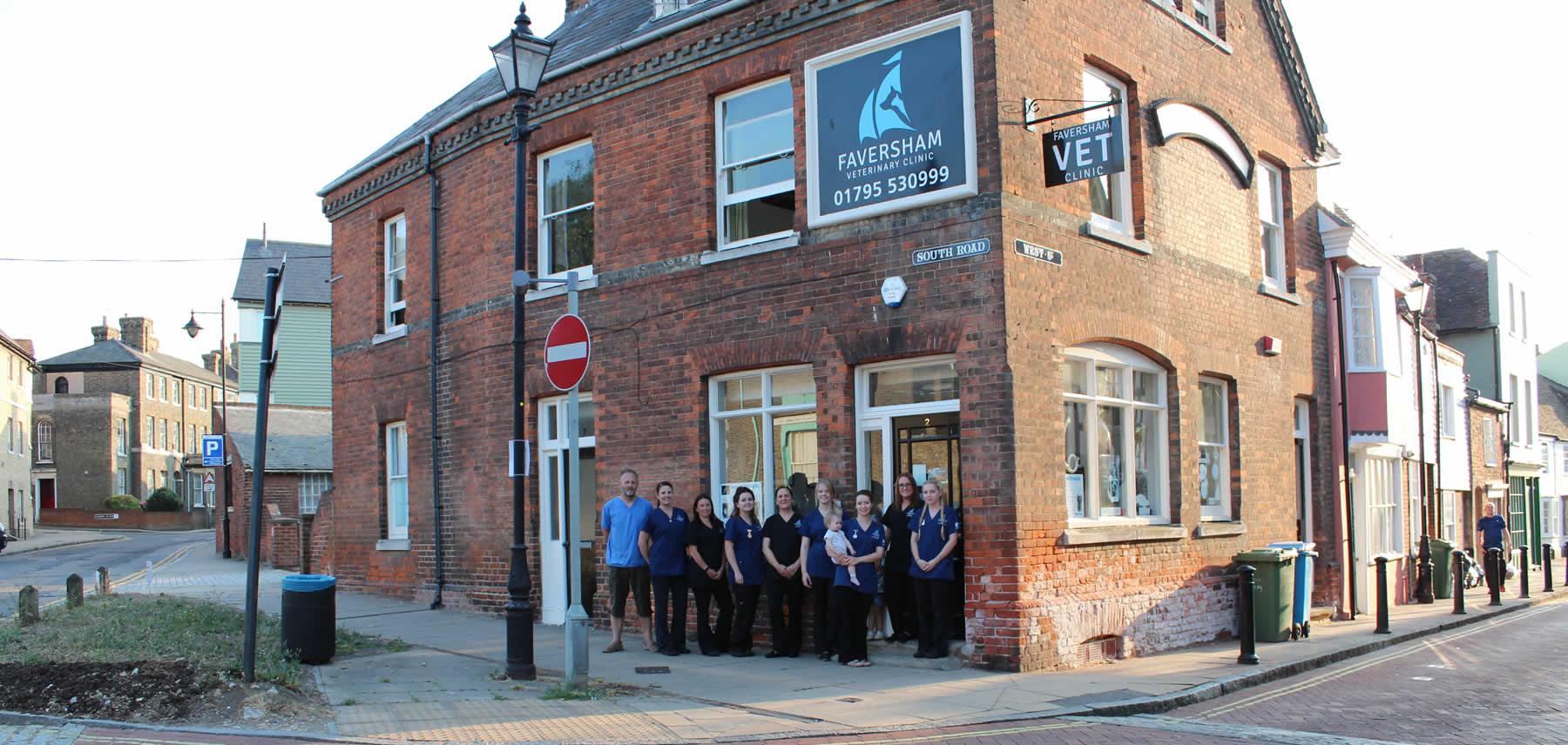 Faversham Vets Staff Trevor Munro